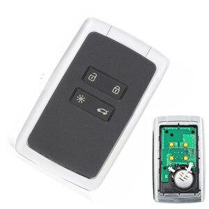 Image 1 - Wilongda 4 taste Auto Smart Remote Key 434mhz PCF7945M HITAG AES 4A Chip Für Renault Megane 4 keyless schlüssel für Talisman Espace5