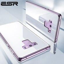 Esr super resistente caso de vidro temperado para samsung galaxy note 9 caso capa telefone pára choques para samsung nota 9 acessório do telefone móvel