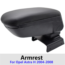 Car Armrest Box For Opel Astra H 2004 - 2014 Central Store Sliding Top Content Accessories Compartment