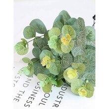 Simulation Eucalyptus feuille photographie accessoires prise de Photos photographie accessoires décoration de fond