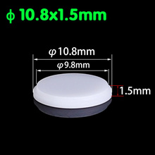Custom Diffuse Reflection Sheet Diameter 10.8mm Stepped Diffuse Reflection Glass  Polytetrafluoroethylene Reflection Sheet seismic reflection exploration