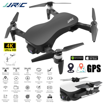 JJRC X12 4K Drone Profissional with Camera HD 5G Quadcopter Optical Flow Brushless Dron Stabilizing Gimbal Gps Quadrocopter