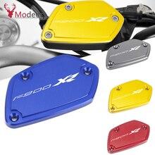 LOGO F 900 XR Motorcycle Accessories Brakes Fluid Oil Reservoir Cap Cover Moto Parts For BMW F900XR F900 XR 2020 2021 F 900XR