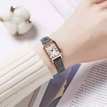 2021 design square Rome quartz watch Women's wristwatch relogios feminino Women Fashion Ladies Simple Rose Gold Luxury Watches