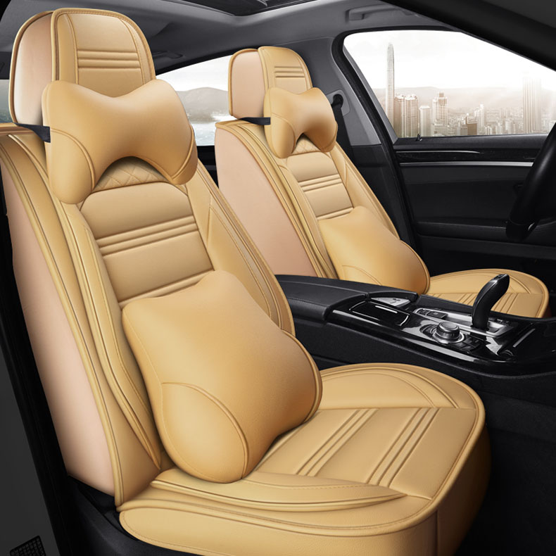 Universal PU Leath car seat cover for cars for auto h4 led <font><b>peugeot</b></font> 307 308 206 208 <font><b>3008</b></font> 407 2008 207 508 <font><b>accesorios</b></font> automóvil image