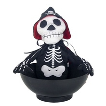 Funny Skull Halloween Fun Candy Dish Household Spoof Ghost Festive Party Supplies