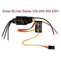 Controlador de velocidad ESC con BEC para Dron de control remoto, multirotores de ala fija, serie Emax BLHeli, 12A, 20A, 30A, 1 Uds.