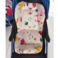 Baby Stroller Cushion Pad Accessories Baby Stroller Seat Soft Cushion Kids Pushchair Car Cart High Chair Seat Trolley Soft