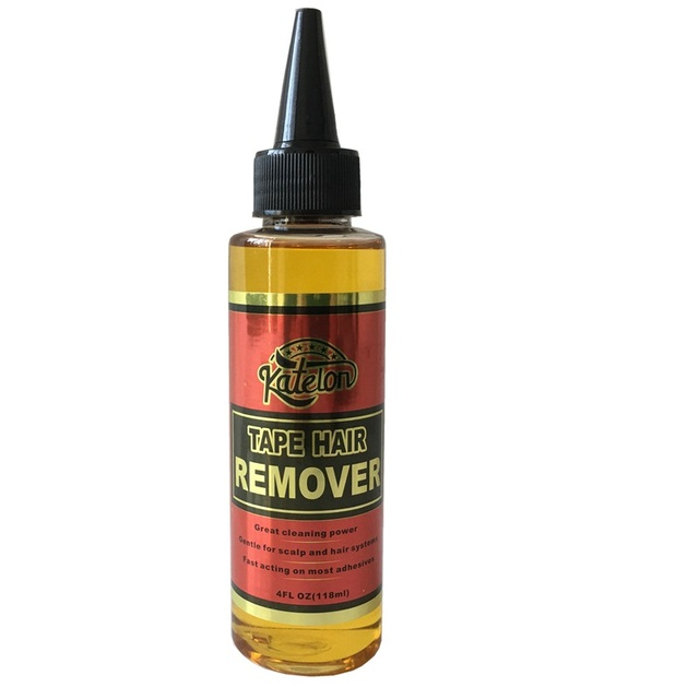 4 Oz 118 ml yellow liquid remover for lace wig glue remover for adhesive tape 1