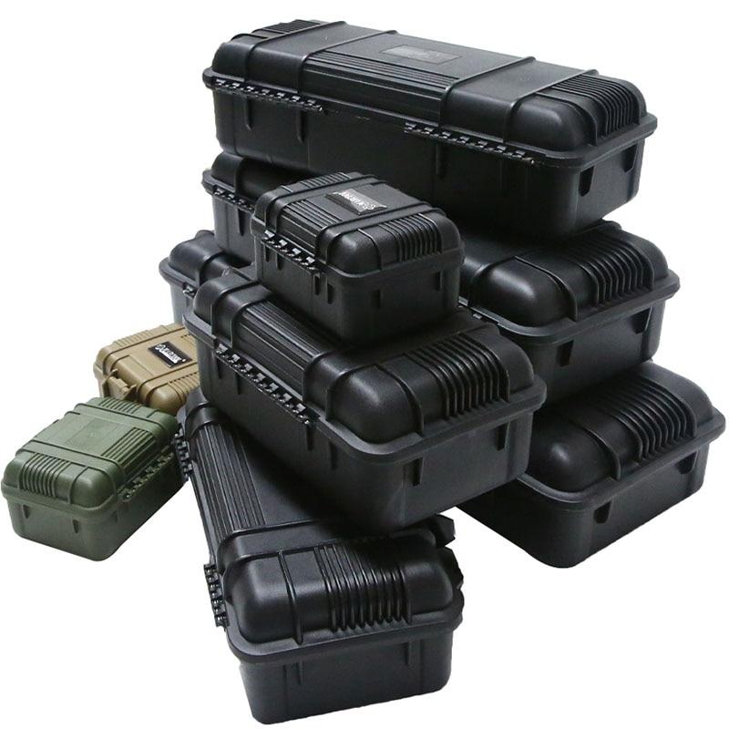 سلامة أداة صندوق أدوات واقية مقاوم للماء للصدمات صندوق أدوات مختومة أداة تأثير مقاومة حقيبة مع الإسفنج