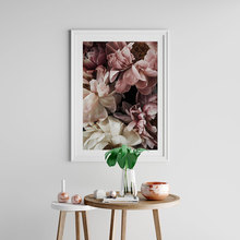 Roses Poster Peonies Scandinavian Canvas Painting  Wall Art Pictures For Living Room Modern Home Decorative Prins On The Wall