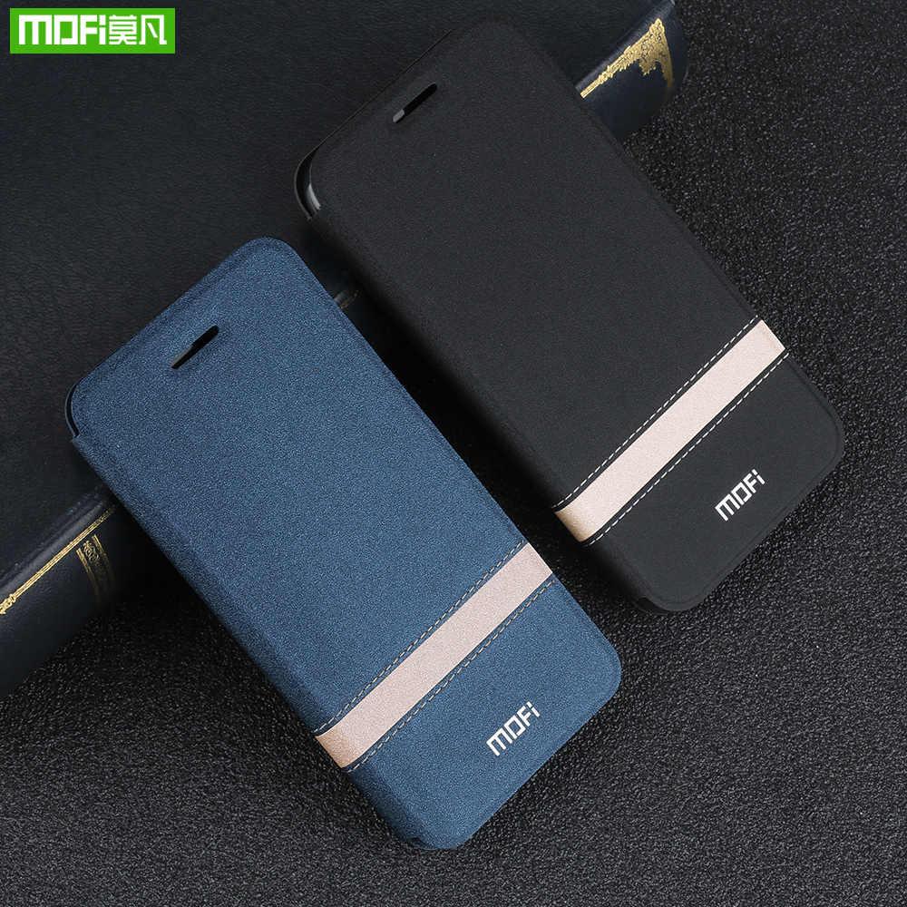 Mofi para xiao mi nota 3 caso capa flip couro do plutônio silicone capa protetora de luxo temperado xio mi nota 2 caso do telefone escudo