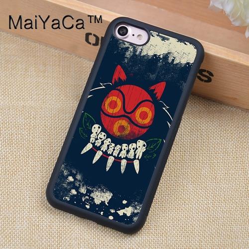 MaiYaCa Princess Mononoke Kodama Spirits Case For iphone 12 mini 11 Pro Max X XR XS MAX SE 2020 6S 7 8 Plus 5S Back Cover Shell