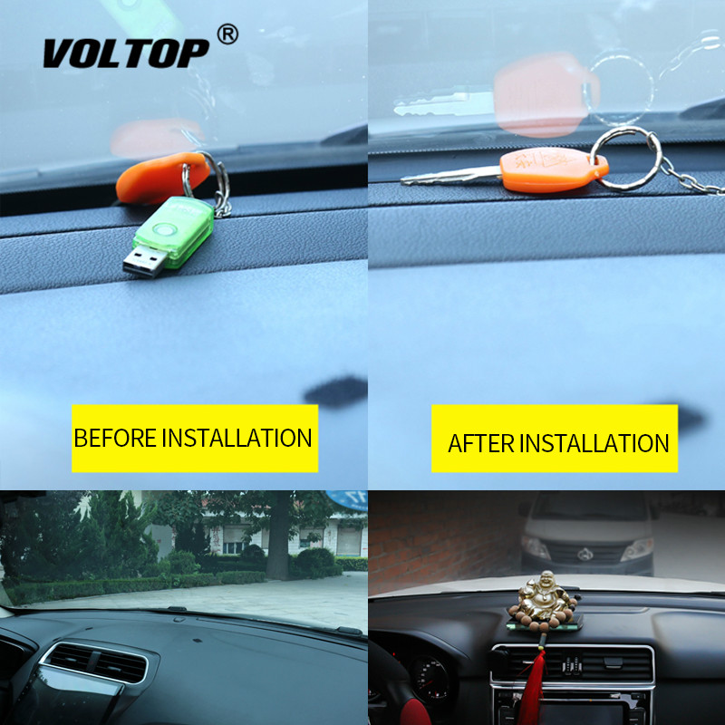 Image 5 - Car Stickers Dashboard Sealing Strips goods For Mazda Ford Toyota BMW Audi Hyundai KIA LADA Universal Auto Interior Accessories-in Car Stickers from Automobiles & Motorcycles