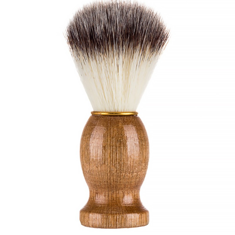 Badger Hair Men\'s Shaving Beard Brush Salon Men Facial Beard Cleaning Appliance Shave Tool Razor Brush With Wood Handle For Me