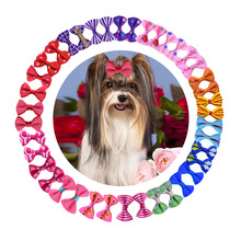 Bows-Clip Grooming-Accessories Pet Cat Dogs for Small Pet-Products Cat-Hair Mixed-Patterns