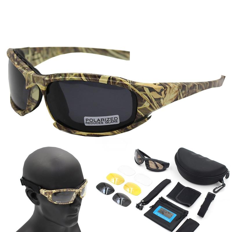 Gafas De Sol polarizadas De senderismo, gafas De camuflaje Tacticcal, gafas De tiro Airsoft, gafas De pesca, gafas De Sol masculinas