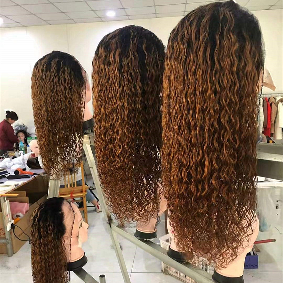 ombre_color_curly_lace_front_human_hair_wigs
