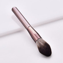1pc juego de pinceles de maquillaje púrpura de lujo para base en polvo colorete sombra de ojos corrector maquillaje brocha cosméticos herramientas