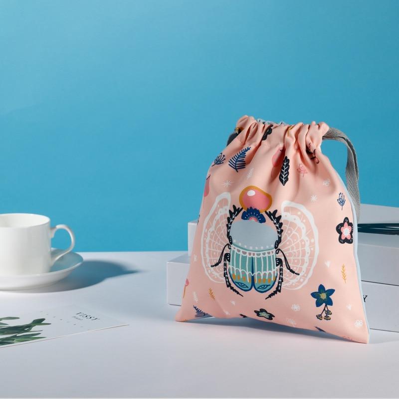 Official Garden British Egypt Museum Drawstring Bag Drawstring Organizing Folders Gift INS-Style Sports Drawstring Cloth Bag