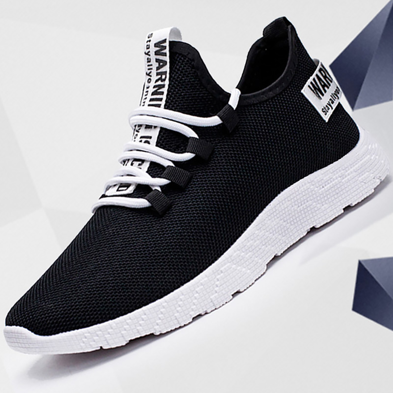 Men's Sports Shoes Basketball Man Air Mesh Breathable Running Shoes 2020 New Sturdy Sole Male Trainers Spring Summer
