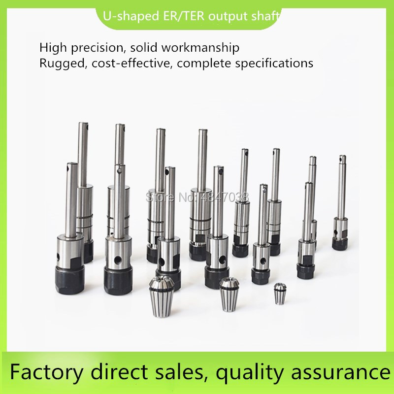 Multi Axis Output Shaft ST C6 ER8 C8 ER11 C10 ER16 C10 ER20  Spindle Shaft Multitool Machine Parts For Tapping Drilling Machine