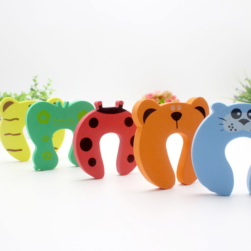 Baby Safe Doorways Gates Decorative Door Stopper Cartoon Animal Jammer Kid Children Protection Doorways Baby Safety Care