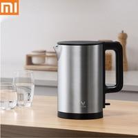 Xiaomi-hervidor de agua eléctrico Mijia youpin, tetera de ebullición rápida, acero inoxidable 304, 1.5L, gran capacidad, 1.8kW