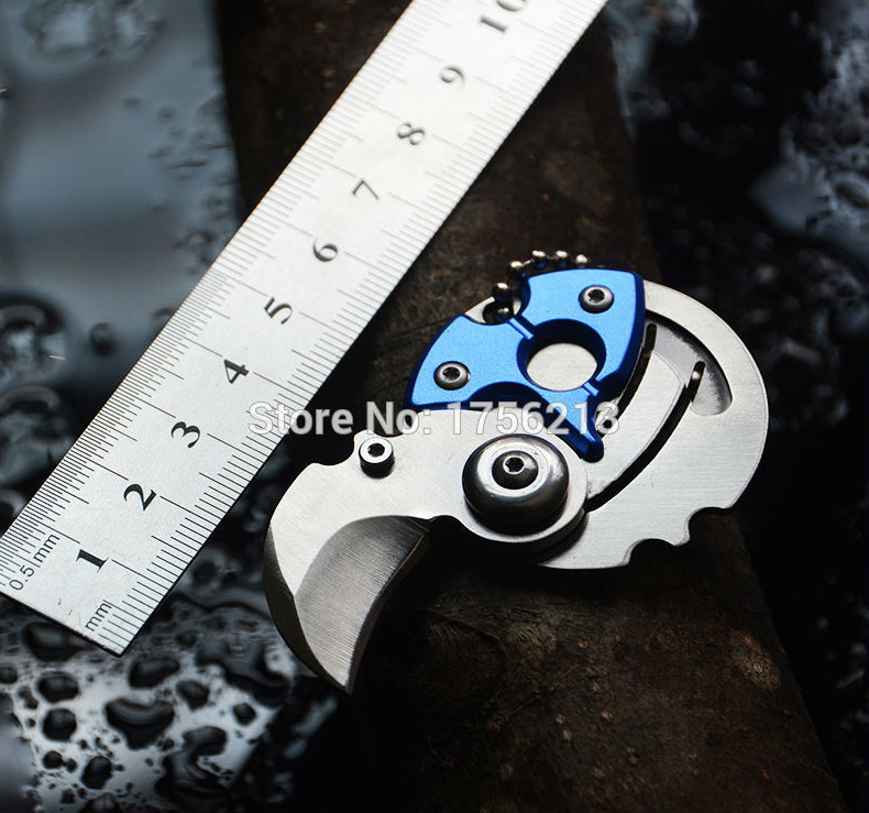 Coin Knife Small Folding Knife EDC Tools Camping Folded Pocket Knife for Emergency Survival Outdoor Activity(China)
