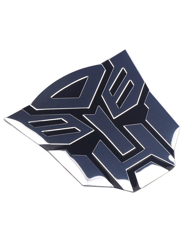 2017 Ocean Small Autobot  Logo Metal Red color Water Applique