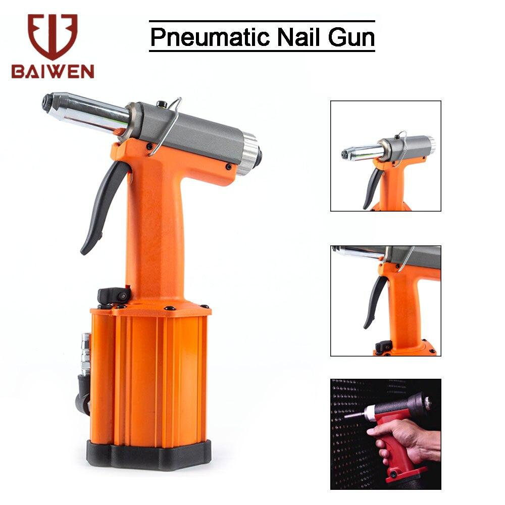 Professional Pneumatic Air Hydraulic Pop Rivet Gun Riveter Riveting Tool 2.4mm 5mm Industrial Nail Riveting Tool