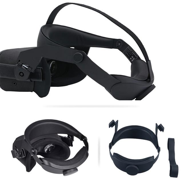 Wygodna antypoślizgowa odciążająca nacisk opaska na głowę piankowa podkładka do zestawu słuchawkowego Oculus Quest poduszka z pałąkiem na głowę mocowanie akcesoria do ramek