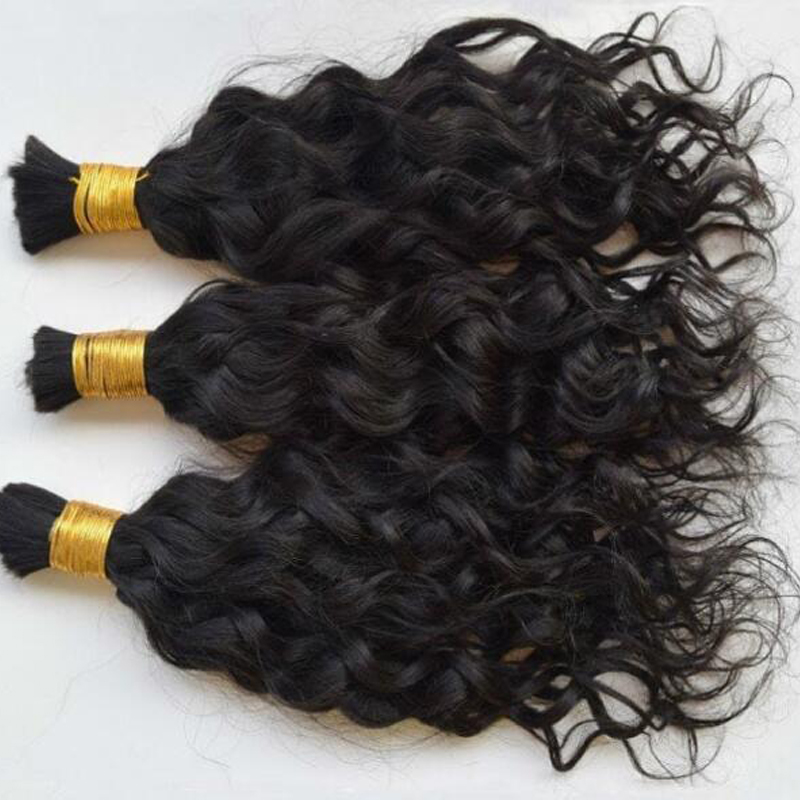 Короткие бразильские свободные волнистые волосы оптом 1/4 шт./лот влажные и волнистые человеческие волосы оптом для плетения без уточных кос...