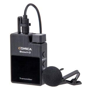 Image 2 - Instock COMICA boomx d D1 D2 UC1 UC2 2.4G bezprzewodowy mikrofon do smartfonów nadajnik odbiornik Mic BoomX D vs RODE GO Mic