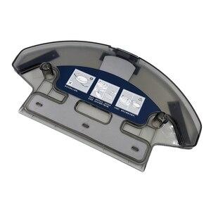Image 2 - Roboter Staubsauger Staub Box Bin Wasser Tank für ecovacs Deebot DE55 DE35 DE33 Robotic Staubsauger Filter Teile Zubehör