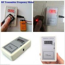 ハンドヘルドリモートコントロール周波数メーター250から1000mhz rfトランスミッタツールリモートデジタルカウンターリモートキーcymometer検出器周波数テスト