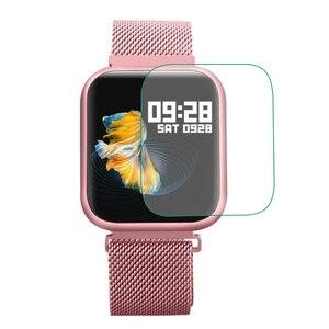 3 sztuk TPU miękkie przezroczysty ochronny folia ochronna dla ESEED lauhwl P80 ekran smart watcha obudowa ochronna Smartwatch ochrony