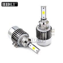 HIDLT 2PCS H15 LED Headlight Bulbs No Error Canbus 12V White 120W 12000LM H15 LED Replacement For Car Auto Headlamp Bulb