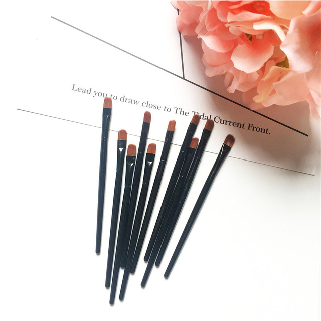 1/2/5PCS Lip Eyebrow Brush Beauty Round Makeup Brush Smudge Eye Shadow Concealer Brush Eyebrow Comb Makeup Accessories 4