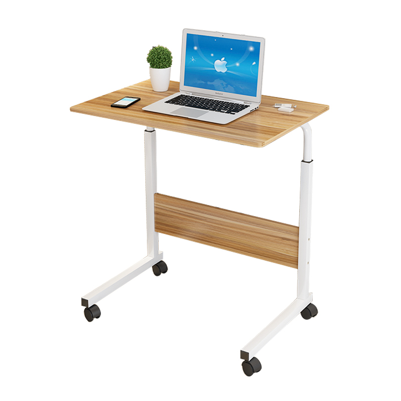 Movable Lifting Desk Desk Simple Pulley Learning Zhuozi Bedside Junior High School Students High School