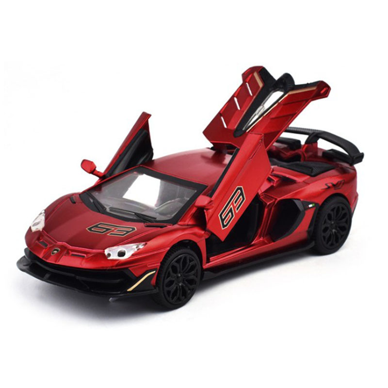 New 1:32 SVJ Race Alloy Car Model Diecasts & Toy Vehicles Toy Cars Educational Toys For Children Gifts Boy Toy