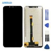 AICSRAD do wyświetlacza LCD Ulefone S10 pro i ekranu dotykowego brak montaż ramy naprawa części + narzędzia do telefonu Ulefone S 10 pro