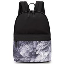 Fashion Printed Backpack Women Canvas School Shoulder Bag for Girls Ladies Knapsack Bookbag Casual Travel Bags Leisure Back Pack