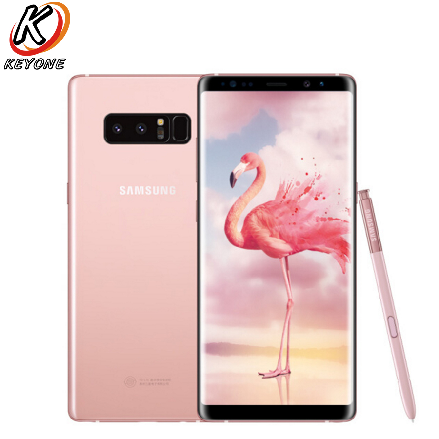 "New Verizon Version Samsung Galaxy Note 8 N950U 4G LTE Mobile Phone 6.3"" 6GB RAM 64GB ROM Snapdragon 835 Dual 12MP NFC CellPhone