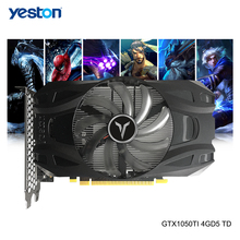 Yeston GeForce GTX 1050Ti GPU 4GB GDDR5 128bit Gaming Desktop-Computer PC Video Grafikkarten Ti unterstützen DVI/HDMI-kompatibel/DP