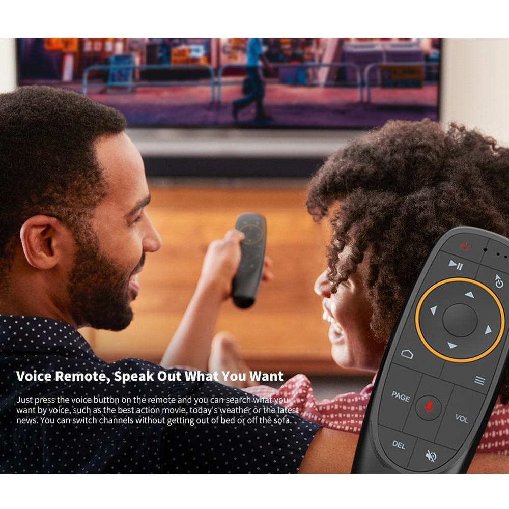 MAGICSEE N5 NOVA TV Box 2,4G Stimme Fernbedienung mit Air Maus Android 9,0 4GB RAM 32GB/64GB ROM Dual-band WiFi BT 4,0 4K Set top Box