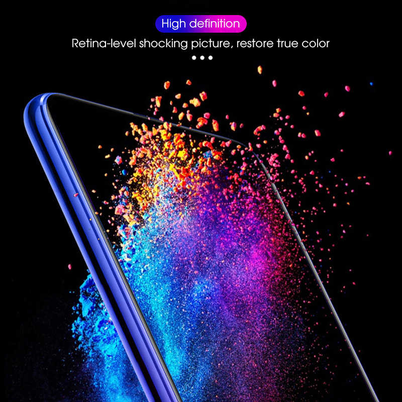 Shockproof Tempered Glass on For Huawei Honor 9X Pro 8X 7X 6X Screen Protector Glass For Huawei honor9x honor8x Protective Film