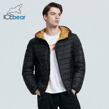 ICEbear 2020 New lightweight men's down coat stylish casual men jacket male hooded apparel  brand men clothing MWY19998D