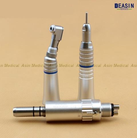 frete gratis dental lenta baixa velocidade contra angulo handpiece turbina de ar direto equipamentos de