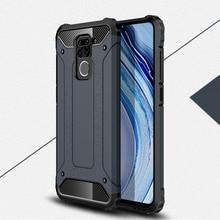 Armor Phone Case For Xiaomi Redmi 10X Note 9 9S 9 Pro Max Cover TPU PC Protective Bumper For Xiaomi Redmi 10X Pro Note 9 Case недорого